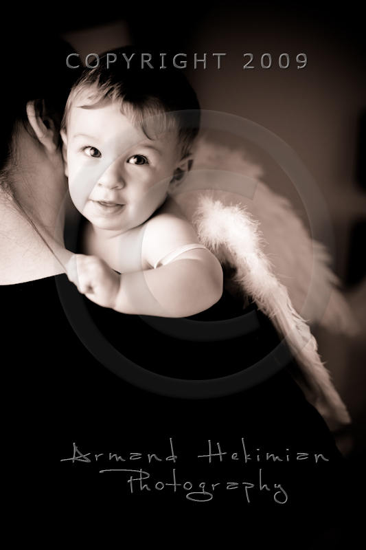An angel in a safe place...
